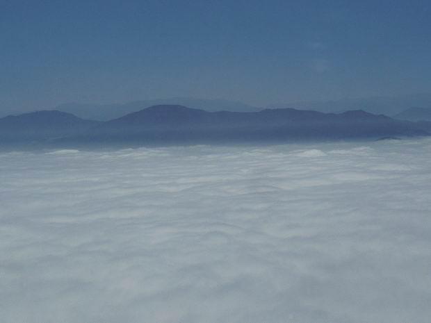 Andes sobre las nubes