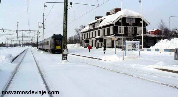 Estación de Kiruna