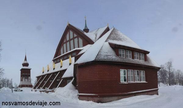 Iglesia de madera de Kiruna