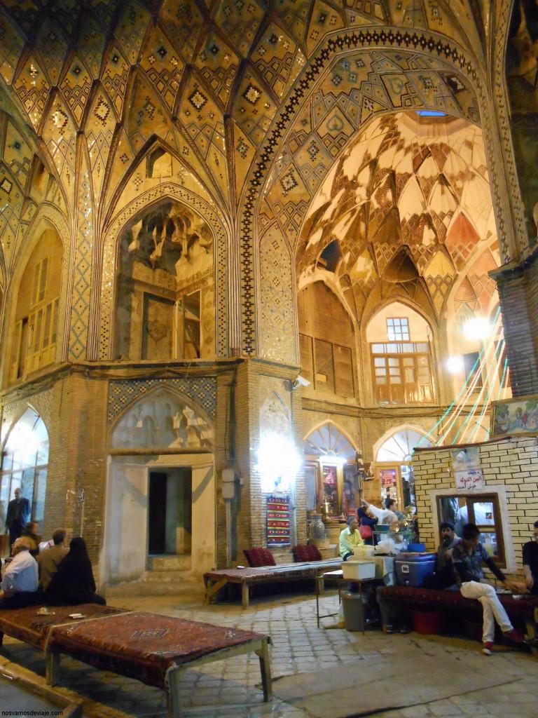 Teemcheh-e-Amin o el bazar de Kashan