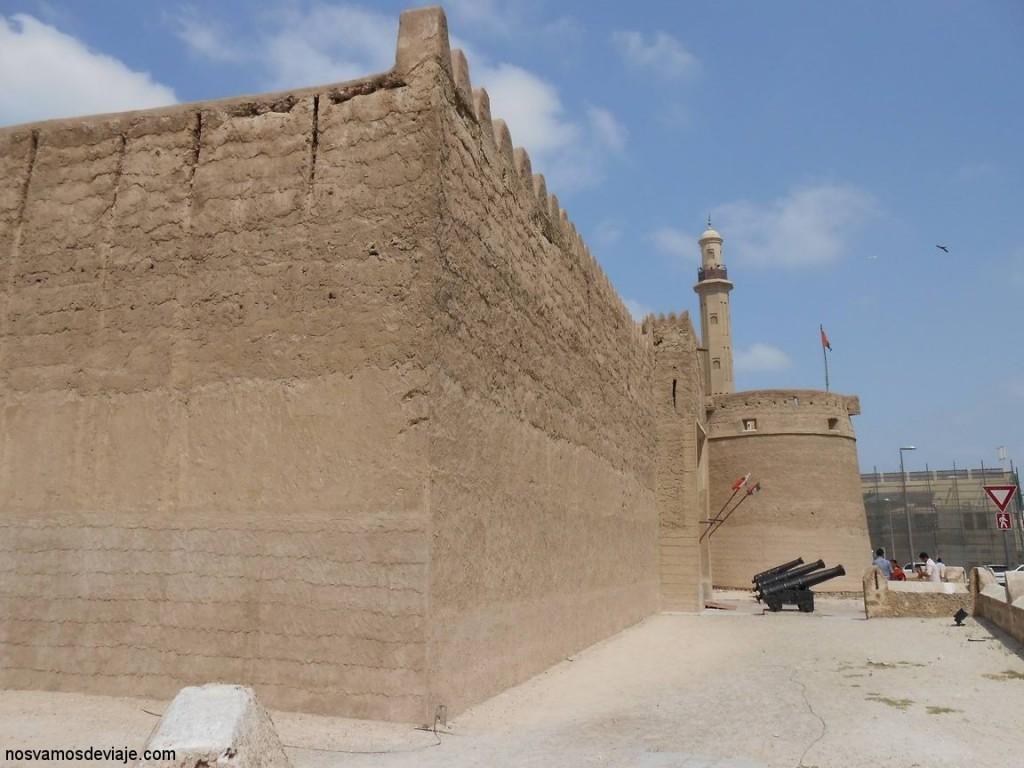 Antiguo fuerte de Dubai