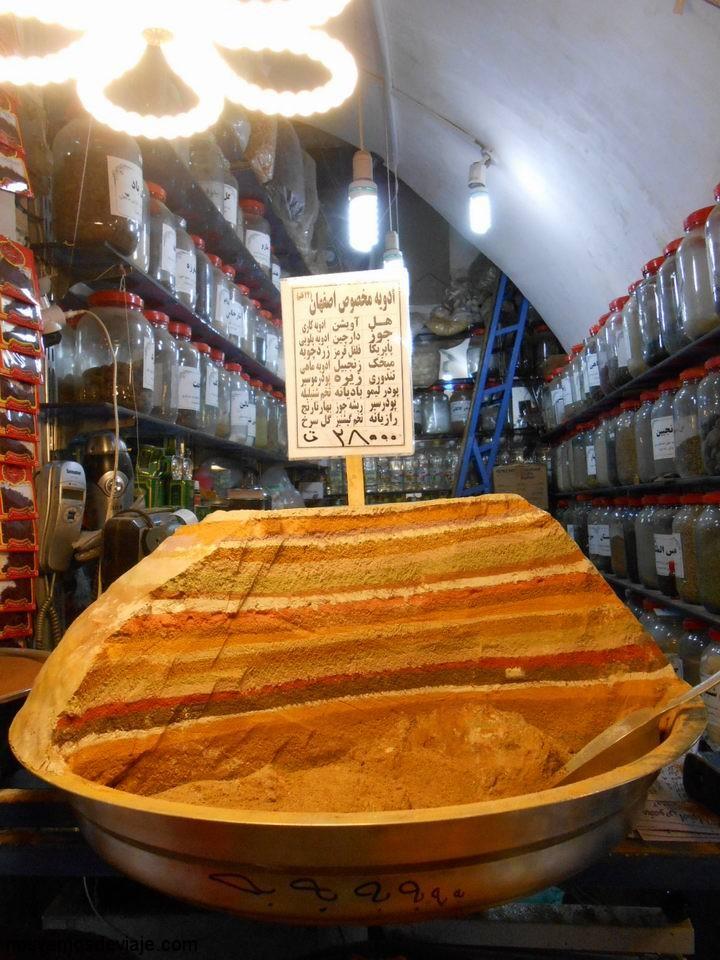 Especias iraníes