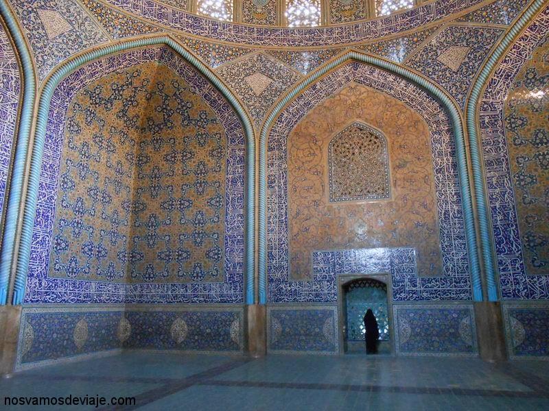 Interior Mezquita Sheikh Lotfollah