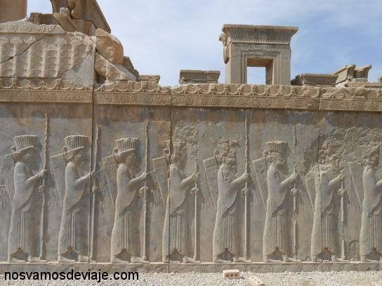 Detalle de Apadana, Persepolis