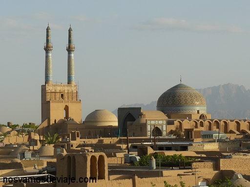 Vista de Yazd