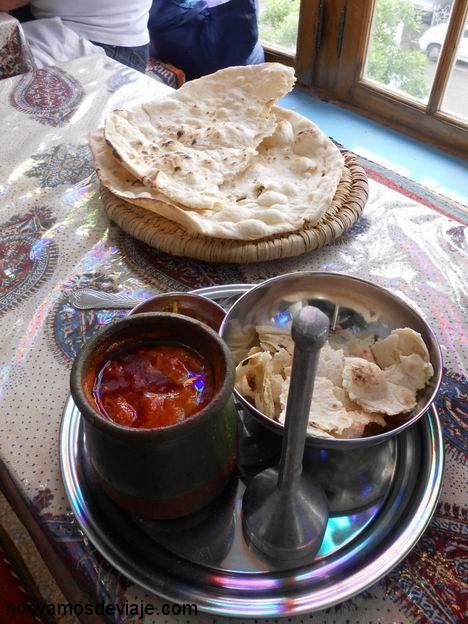 Dizzy, plato típico de Shiraz