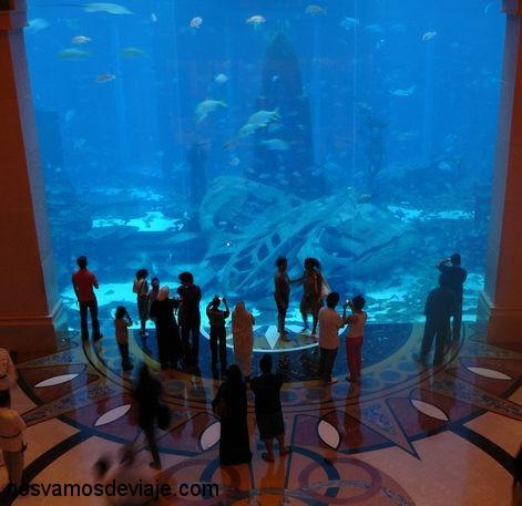 Acuario del Hotel Atlantis, en la Palmera
