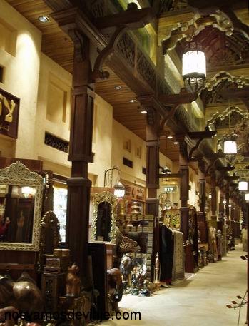 Recreacion lujosa de zoco en Medina Jumeirah