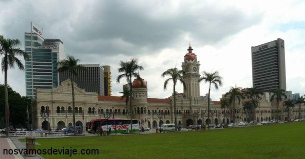Antigua sede de la administracion colonial
