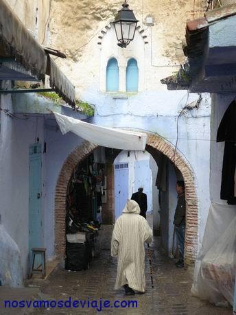 Arcos con encanto en Chaouen