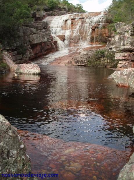 Rios y cascadas en la Chiapada Diamantina