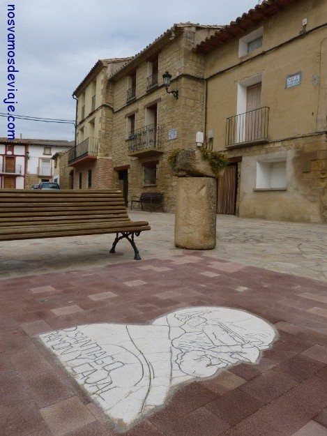 Casa donde vivió la familia Ramon y Cajal en Valpalmas