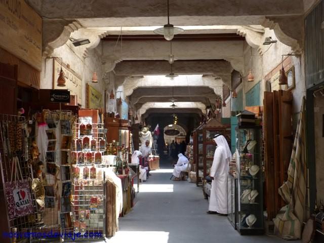 Callejones del zoco Waqif