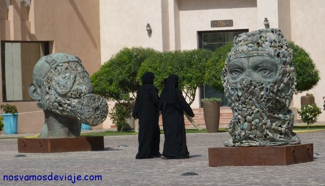 Esculturas en Katara