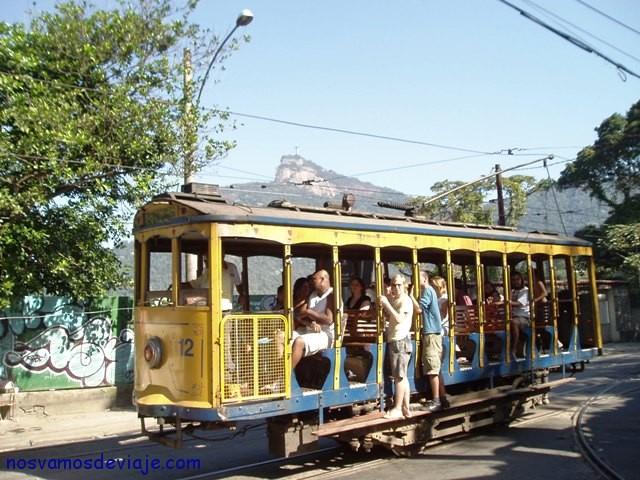 Tranvía en Santa Teresa