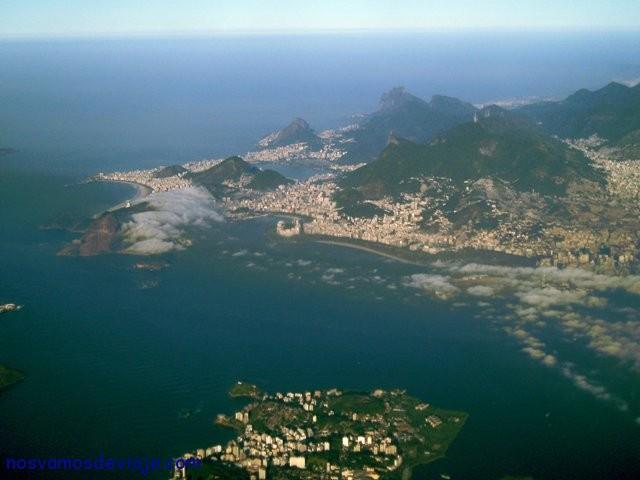 Vista aérea de Rio