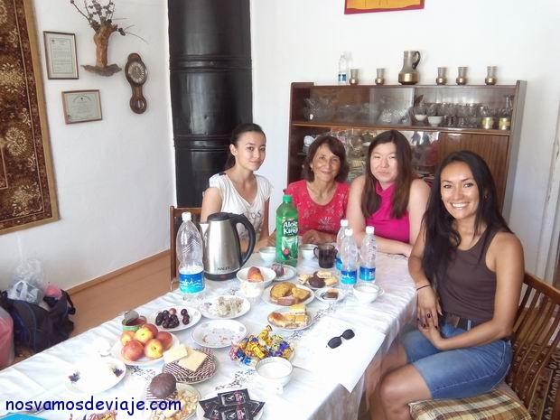 mujeres de una misma familia