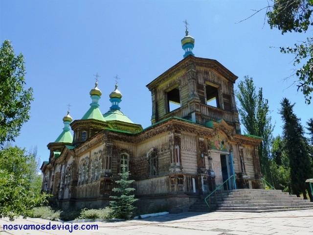 catedral ortodoxa Karakol