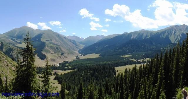 paisaje cuasi alpino