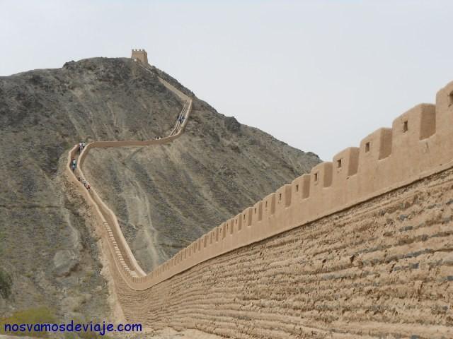 Ultimo tramo de la gran Muralla