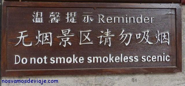resumiendo no fumes