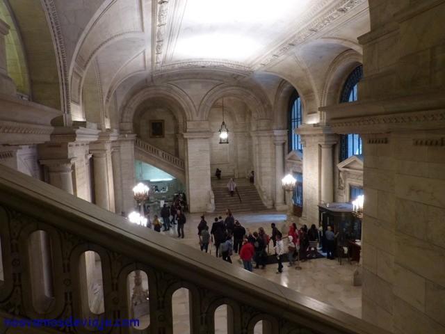 Astor Hall Biblioteca NY