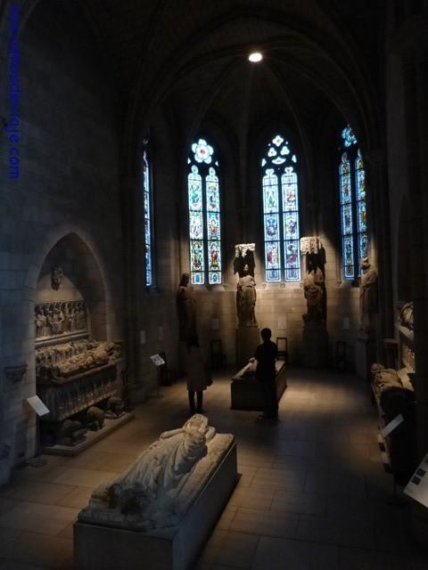 Capilla gotica en The Cloisters