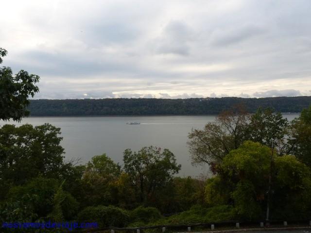 Vista del Hudson desde Cloisters