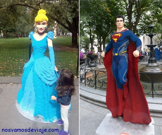 estatuas de LEGO