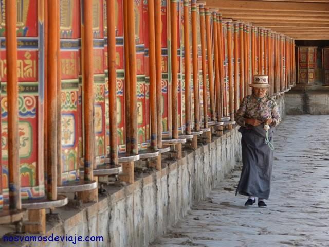 Ruedas de oración en Xiahe
