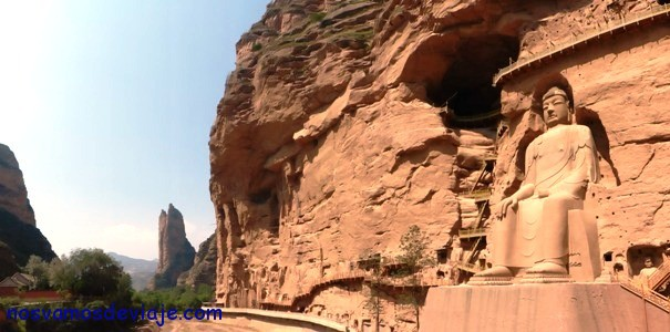 Gran buda Maitreya de Bingling Si