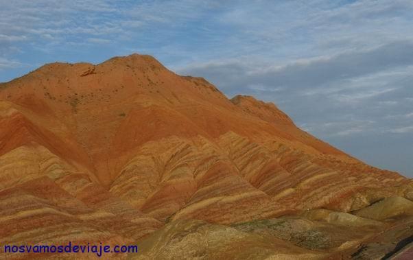 montaña con las barras de Aragón