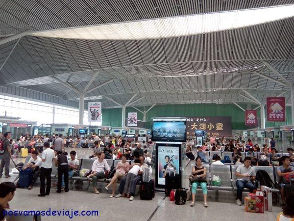 Estación de tren alta velocidad Xian