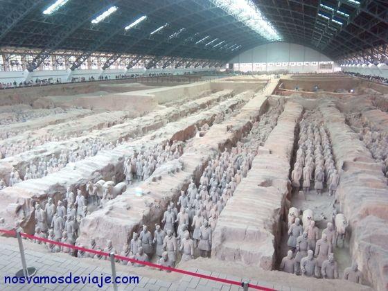 Xian guerreros vista general