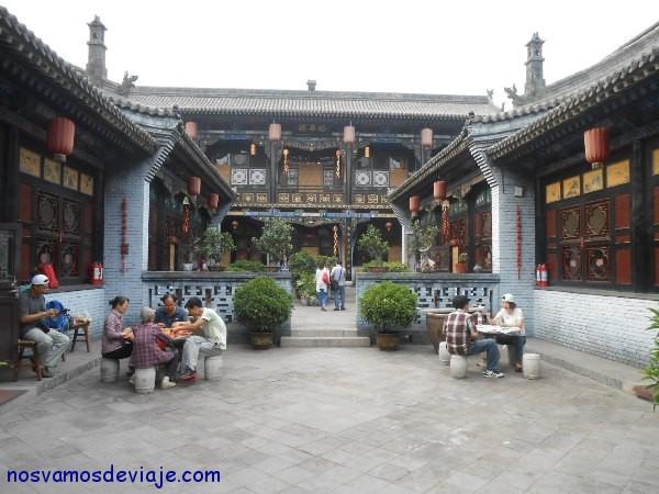 casa transformada en hotel en Pingyao