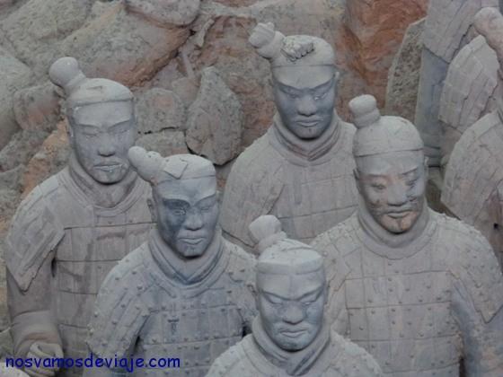 diversidad de rasgos guerrero Xian
