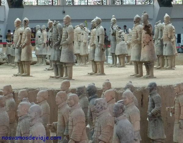 guerreros en reconstrucción Xian