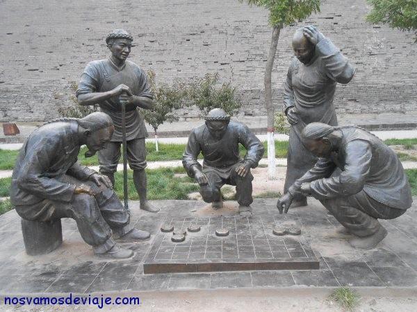 monumento a las milenarias damas chinas