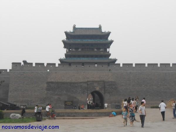 puerta sur de la muralla