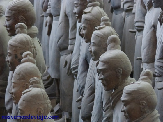 tres mil años firmes en Xian