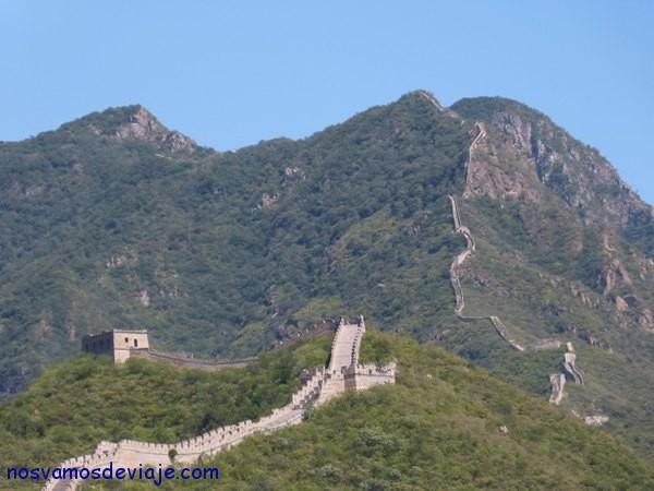 Gran muralla serpenteando
