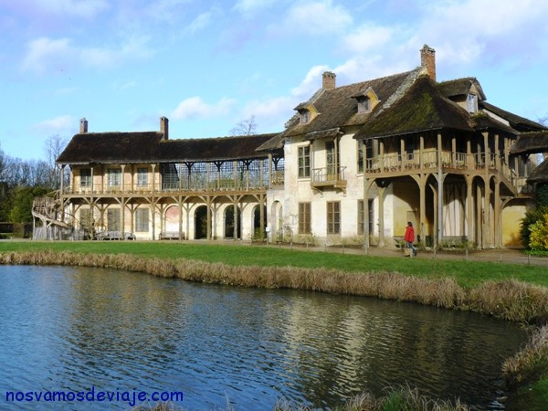 La aldea de Maria Antonieta en Versalles