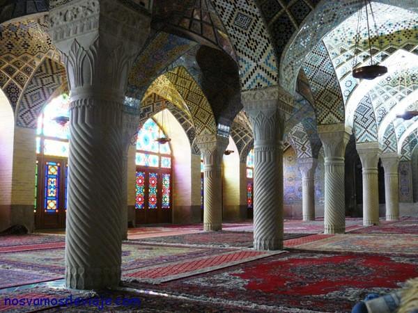 Mezquita Rosa en Shiraz