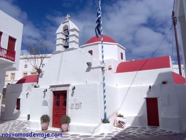 Iglesia en Hora Mykonos