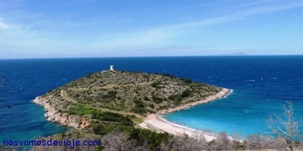 Playa del castello Chios