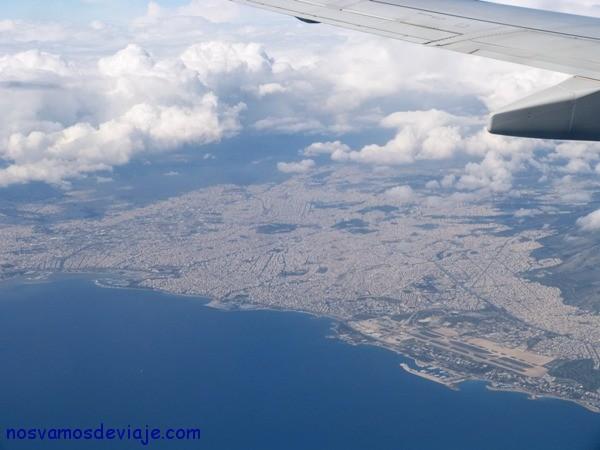 Atenas desde el aire