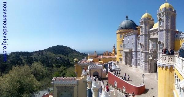 Palacio de Pena en Sintra