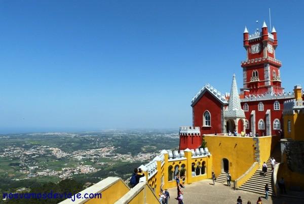 Vista desde Palacio da Pena
