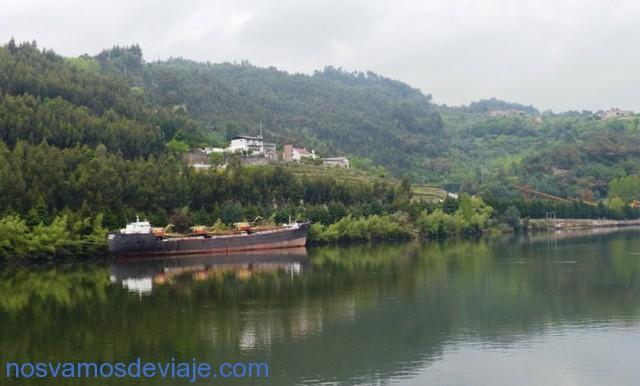 barcos viejos en el Duero