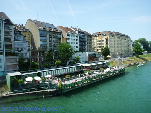 Club fluvial en el Rin